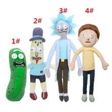 Rick And Morty Stuffed Plush Doll Soft Kid Toy