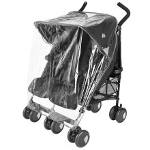 Raincover Compatible With Mamas And Papas Kato Twin Double Pushchair (213)