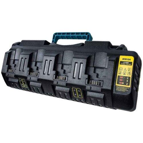 Charger For DeWalt DCB104 18v 54v Flexvolt XR Four Port Li-ion Fast Battery