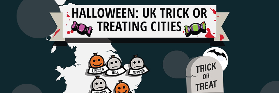 Halloween 2017: UK Trick or Treating Cities