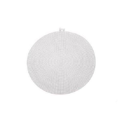 Darice Large Plastic Canvas Circle - 9.5in (24.1cm)