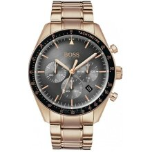 Hugo Boss Trophy Rose Gold Men's Watch HB1513632 New with Tags