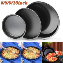 Non Stick PIZZA TRAY Carbon Steel Baking Round Oven Tray Pizza Pan