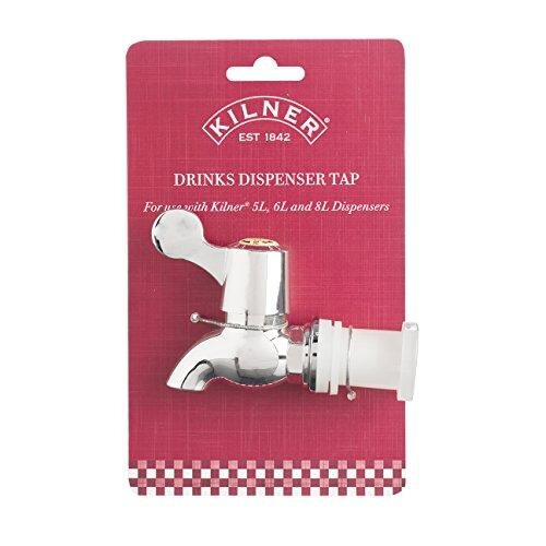Kilner Replacement Tap – for use Drinks Dispensers, Silver, One Size