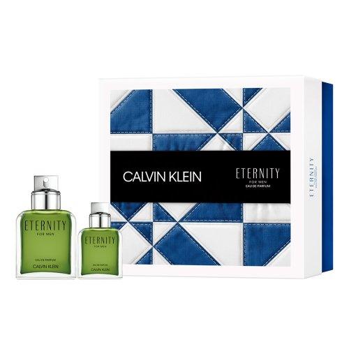 Calvin Klein Eternity for Men - Gift Set With 100ml Eau De Parfum Spray and 30ml EDP Spray