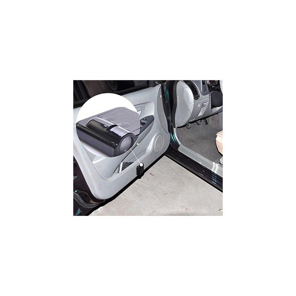 Soondar 2 x Wireless No Drill Type Led Laser Door Shadow Light Welcome Projector