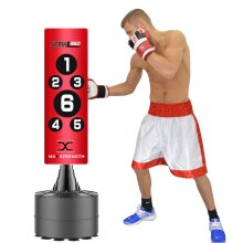 Boxing Free Standing Punch Bag Heavy Kick Fight Martial Arts Stand