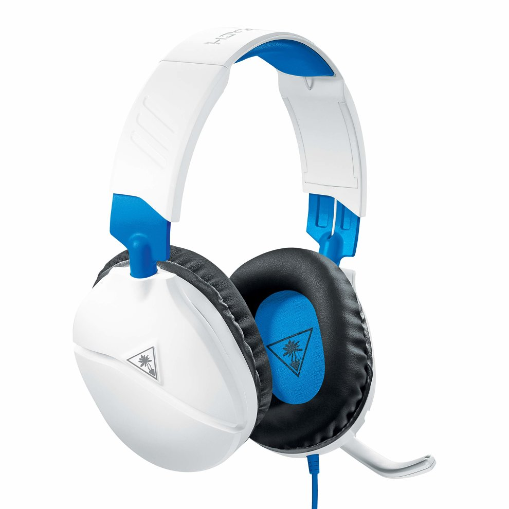 Turtle Beach Recon 70P PS4 Xbox One PC Headset White  9ZyNG