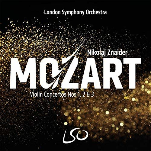 LSO, Nikolaj Znaider London Symphony Orchestra - Mozart: Violin Concertos Nos. 1, 2 and 3 [CD]