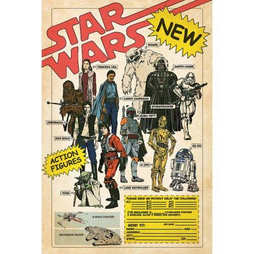 Star Wars Poster Action Figures 99
