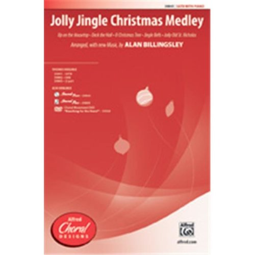 Alfred 00-39844 JOLLY JINGLE CMAS MEDLEY-STRX CD