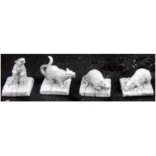 Reaper Miniatures - 02889 - Dire Rats - DHL