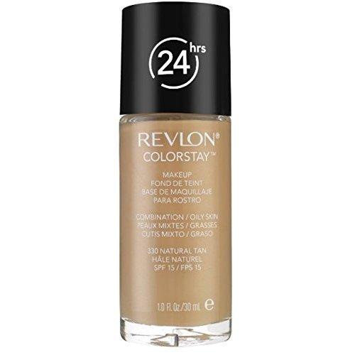 Revlon Colorstay for ComboOily Skin Makeup Natural Tan 330 1 oz