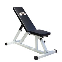 FIT4YOU Heavy Duty Positions Adjustable Flat Incline Gym Utility Dumbell Weight Bench