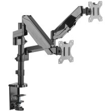 ONKRON Dual Monitor Desk Mount for 13 to 32Inch up to 8 kg G140 Black