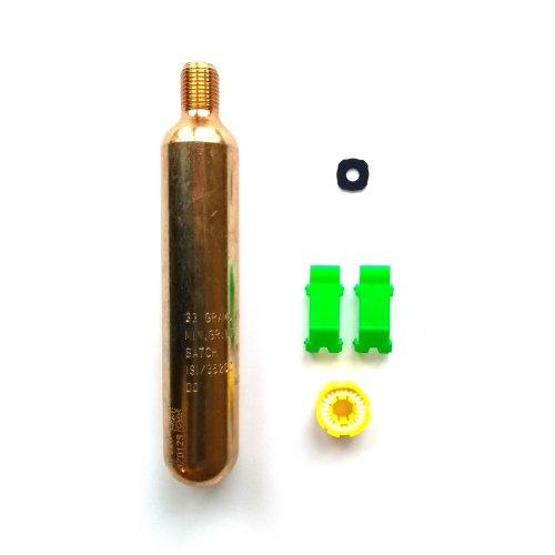 (33g CO2) Lifejacket Rearming Kit Halkey Roberts Alpha Inflator