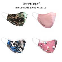 Childrens Kids Reusable Face Mask Step Ahead