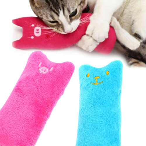 Catnip Pillow Cute Pet Cat Toys Gift Chew Crazy Grinding Play Toys Teeth Scratch