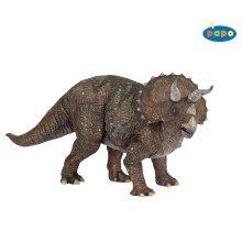 Papo Triceratops Dinosaur - New Dinosaurs -  papo triceratops dinosaur new dinosaurs