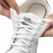 No Tie elastic shoe laces capsule lock For trainers kids Adults