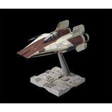 Star Wars 1/72 Rebel A-Wing Starfighter model kit by Bandai