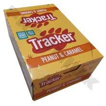 24 x TRACKER PEANUT & Caramel Cereal Nut Bars 24 x 37g Full Case