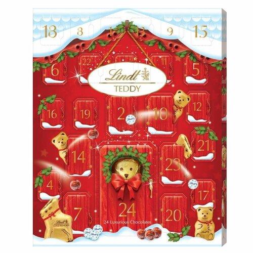 Lindt Golden Teddy Bear Adorable Chocolate Advent Calendar - 250g