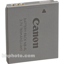 Canon NB-4L Lithium-Ion Battery Pack (3.7v 760mAh)