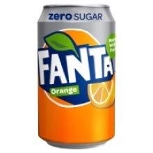 Fanta Orange Zero 330ml (24 x 330ml)