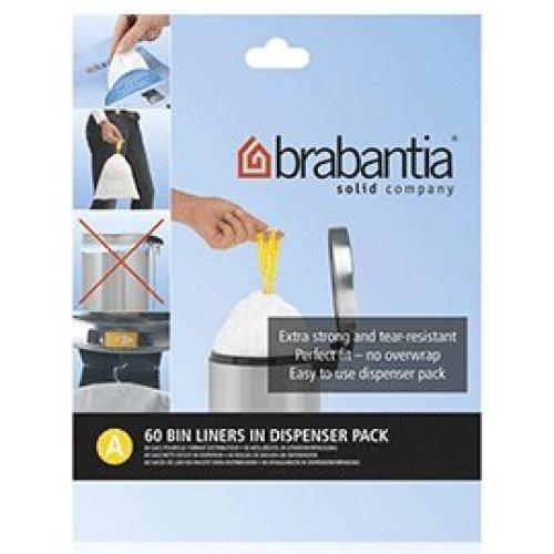 120 x Brabantia Perfectfit Bags Size A 3 Litre Bin Bags