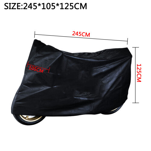 Motorcycle Waterproof Outdoor Vented Motor Bike Scooter Rain Cover XL