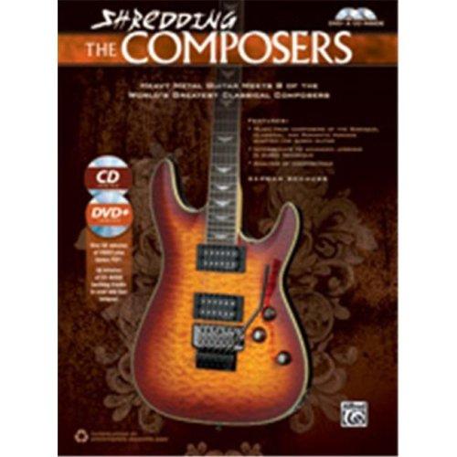 Alfred 00-40930 SHREDDING THE COMPOSERS-BK&CD&DVD