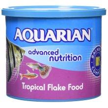 Aquarian Tropical Flake Fish Food - 200 g