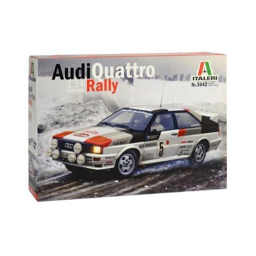 Italeri 3642 - 1/24 Audi Quattro Rally Model Kit