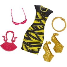 Monster High - DVF09 - Complete Look Cleo De Nile - Deluxe Doll Clothing Costume Fashion Pack