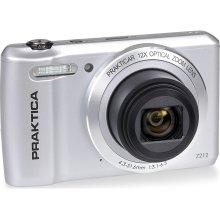 PRAKTICA Luxmedia Z212-S Compact Camera - Silver, Silver - Refurbished