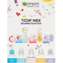 Garnier Tissue Mask Discovery Collection