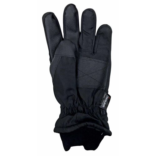 Mens 3M Thinsulate 40 gram Thermal Insulated Waterproof Ski Gloves