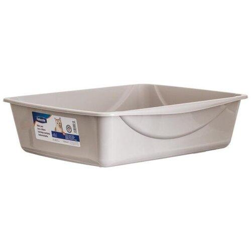 Petmate DK22183 Litter Pan, Gray - Large