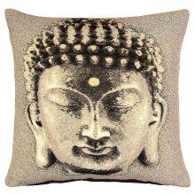 Beige Buddha Cushion Cover