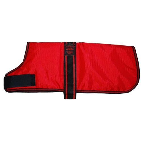 Padded Waterproof Coat Red 40.5cm (16'')