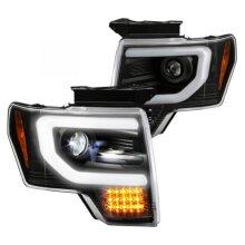 Spyder 5087584 S-Projector LED Headlight