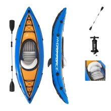 Bestway Hydro-Force 1 Person Inflatable Kayak Rowing Boat Canoes Paddle Pump