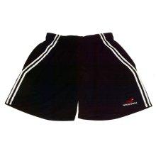 Woodworm Cricket Training Shorts, Black/White