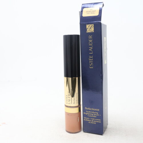 (6N Extra Deep) Estee Lauder Perfectionist Youth-Infusing Brightening Serum + Concealer 1oz  New