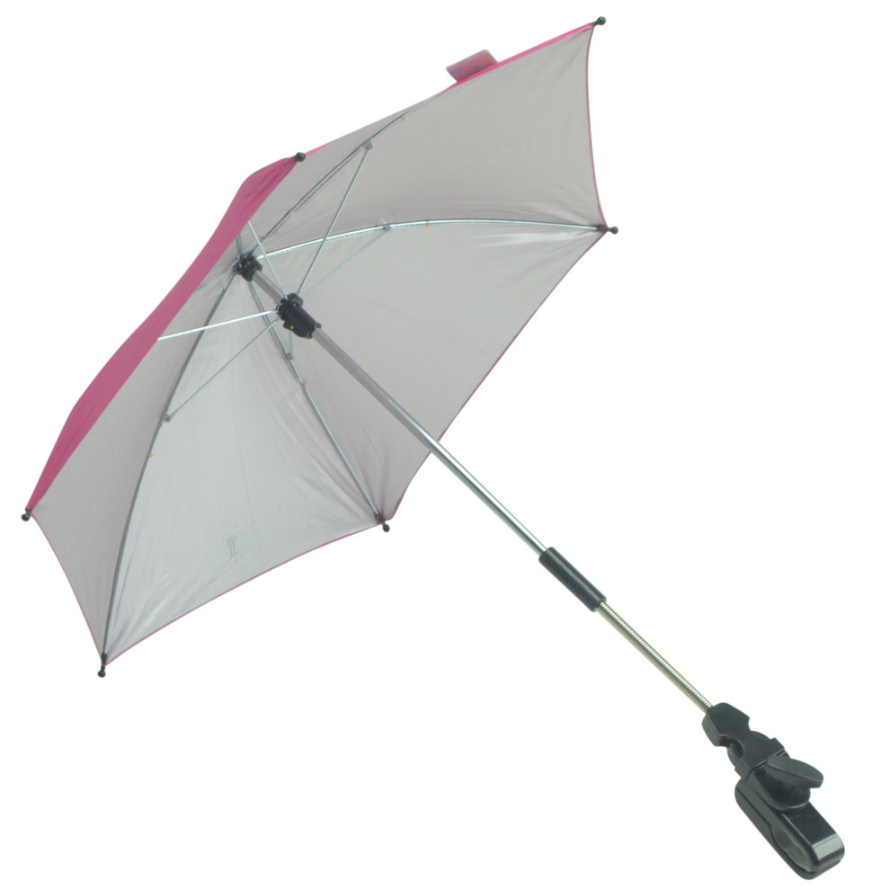 Baby Parasol compatible with Hauck Condour All in One Hot Pink