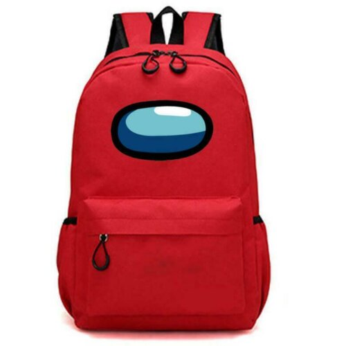 (Red) Among Us Shoulder Backpack School Bag Rucksack