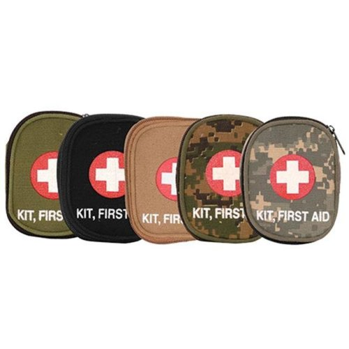 Fox Outdoor 6375 Soliders First-Aid Kit Cover - Black