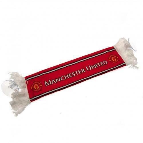 Manchester United F.C. Mini Car Scarf ( d80mcsmau )