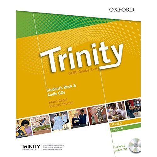 Trinity Graded Examinations in Spoken English (GESE): Grades 5-6: Student's Pack with Audio CD